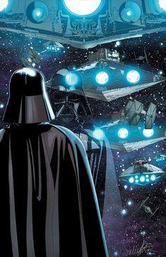 Marvel Darth Vader #9 cover art by Salvador Larroca