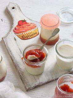 Rhubarb-banana-strawberry yogurt