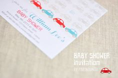 digital products - Baby shower invitation  by PinkNounou
