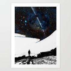 The Road Less Traveled :) https://society6.com/product/the-road-less-traveled-isw_print#1=45:) #society6 #stoianhitrov #road #travel #space #stars #artprint