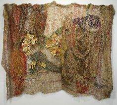 El Anatsui. Nukae. 2006. Aluminum & Copper Wire. 110 x 158 inches