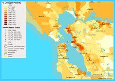 nice Map of San Francisco/Oakland