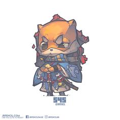 545 - 犬神, Jr Pencil on ArtStation at https://www.artstation.com/artwork/LwXbv