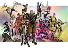 X-men by ~taguiar on deviantART