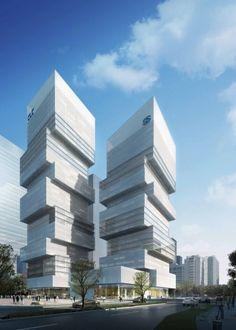 CDB Tower & Minsheng Financial Tower in Shenzen by Saraiva & Associados
