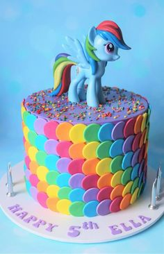 My Little Pony Cake, best for the kids. My Little Pony Cake, best for the kids. Little Girl Birthday Cakes, Little Girl Cakes, 6th Birthday Cakes, Birthday Cakes For Kids, Unicorn Birthday Cakes, Princess Birthday, Bolo My Little Pony, Cumple My Little Pony, My Little Pony Cupcakes