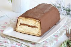 Torta gelato twix