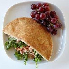 Salmon Pita Sandwich - EatingWell.com