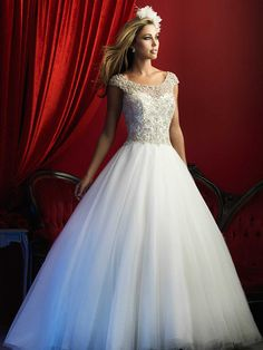 Allure Couture c370 wedding dress