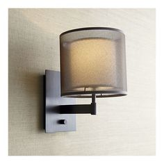 Eclipse Antiqued Bronze Wall Sconce in Sconces | Crate and Barrel