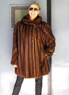 Pre-Owned Natural Canadian Lynx Coat (size:12) ** For domestic ...