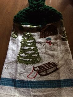 A personal favorite from my Etsy shop https://www.etsy.com/listing/252414649/crochet-christmas-hand-towels