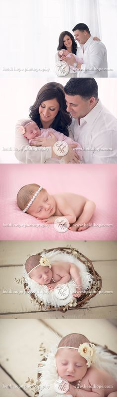 the L family welcomes sweet baby girl!  #newborn #family #love #sweetpea