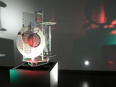 Laslo Moholy-Nagy, Light Space Modulator. 1922-30, Steel, plastic, wood and other materials with electric motor