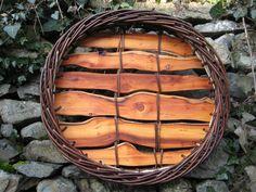 Mandy Coates   Basketry / Gwaith Basged  Platter / Platiad  £100 - £118