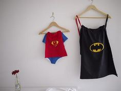 DIY Halloween Costume : DIY upcycled bag into superhero or superman cape DIY Halloween #upcycle #kinderfeestje #kidsparty
