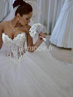 fournitures de airmode.frplein air avec jardin d'hiver / printemps naturel de la robe de mariée de longueur de ma parole. Robes de Mariée A-ligne