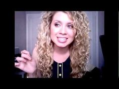 Curly Hair Tips.  This is the closest to what I do but of course she has it perfected!