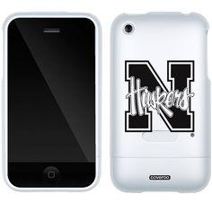 University of Nebraska N Huskers Schools design on iPhone 3G/3GS Slider Case by Coveroo in White