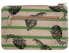 Kate Sheridan - Snails and Stripes make up pouch - For Ruth :)