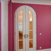 Weiße Zimmertüren mit Glaseinsatz, volles Türblatt, Kassetten oder anderem Design // Lauer Die Schreinerei www.schreinerei-lauer.de
