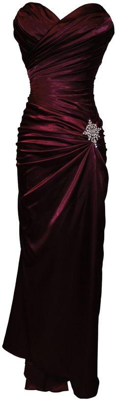 burgundy taffeta