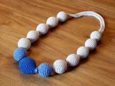Kette mit Deoroller - Kugeln / Necklace with deo roll-on balls inside / Upcycling