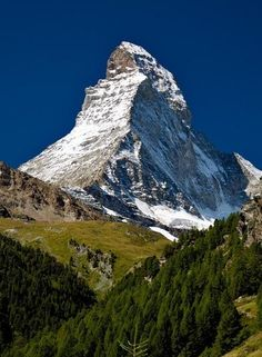 The Matterhorn (German), Monte Cervino (Italian) or Mont Cervin (French)