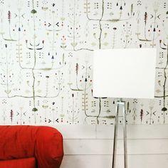 We wallpaper. Picture from Suite Sammal. Summer Poems, House Design, Interior Design, Elegant, Wallpaper, Room, Home Decor, Interior Design Studio, Classy