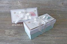 Geschenkschachtel Geschenk Verpackung Baby Zum Nachwuchs Colorieren mit Stampin Write Markern