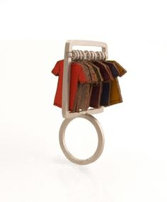 Not sure what to wear? How about your whole wardrobe?  Ring by ALIYAH GOLD-USA