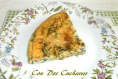 ConDosCucharas.com Tortilla de grelos - ConDosCucharas.com Chorizo, Tortillas, Quiche, Breakfast, Food, Recipes With Vegetables, Preserve, Mince Pies, Morning Coffee