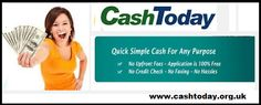 Get Easy Funds With Cash Today For Handle Fiscal Hurdles