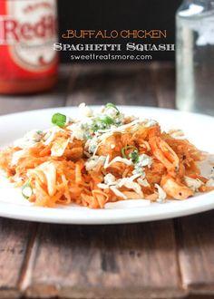 Buffalo Chicken Spaghetti Squash {a little appreciation for da