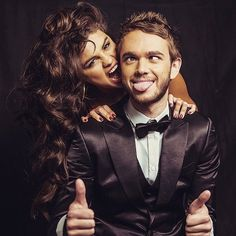 Pin for Later: 32 of the Cutest Celebrity Moments From 2015 When Zedd Shared This Adorable Photo of Himself and Selena Gomez They've only been together a short time, but they already have so many cute pictures together!
