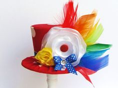 Mini Top Hat Headband Alice in Wonderland by TrulySweetCircus, $22.95