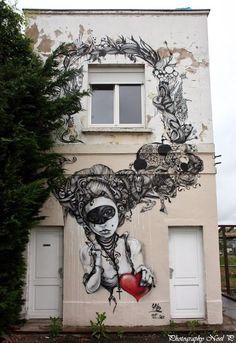 Skio, awesome street art, wall murals, amazing urban art, world's best street artists, free walls, graffiti.