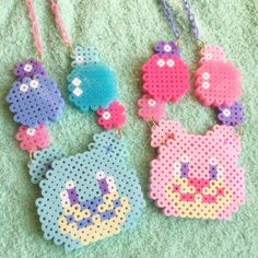 【Apps and Beads】くま&しゃぼんネックレス | Apps and Beads