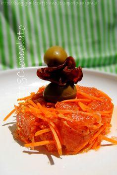 INSALATA DI ARANCE E CAROTE  http://blog.giallozafferano.it/saporidicasamia/insalata-di-arance-e-carote/