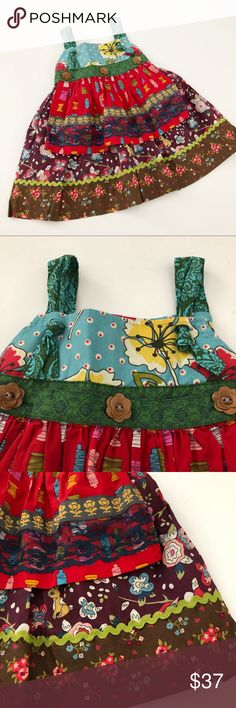 """Matilda Jane Dress Great condition!  The """"apron"""" can me removed, as shown Matilda Jane Dresses"""