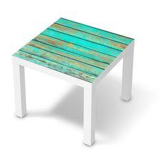 Wooden Aqua (Lack 55x55 cm)