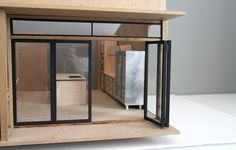 A modern miniatures blog with a focus on contemporary dollhouse design.