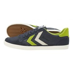Dress Blue hummel Slimmer Stadil Oiled Lw adults – See all hummel footwear adults for collections on hummel.net