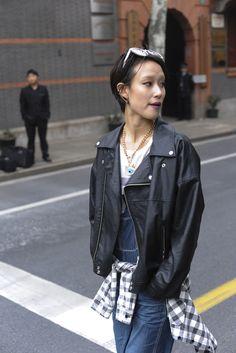 Shanghai Fashion Week Street Style | WWD