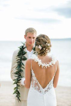 beach wedding hair Maui Beach Wedding styled by Love and Beauty Maui Wedding Bridesmaids, Wedding Dresses, Hair Wedding, Beach Wedding Hairstyles, Bridesmaid Ideas, Boho Wedding, Bridal Hair, Wedding Decor, Wedding Ceremony