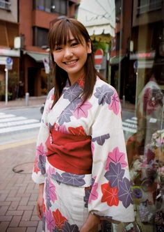 Yui Aragaki in kimono