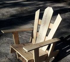 DIY Projects For Home Decorating: My first pallet chair