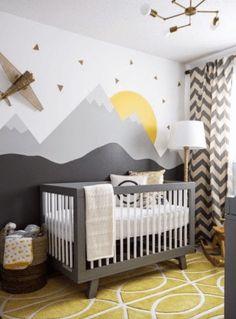 Decor quartinho de bebê aviões 21