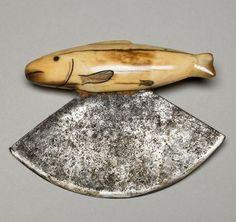 Eskimo Women's Knife (Ulu) - 1890