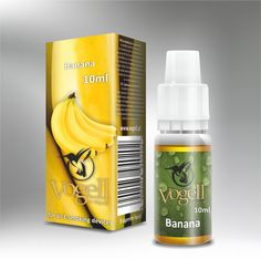 Liquid Vogell - Banana - Słodki smak bananów - http://vogell.pl/#!/page_Vogell